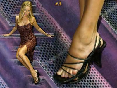 Xenia Seeberg Feet