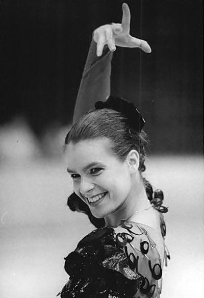 Katarina Witt (Olympic Opt Skater)
