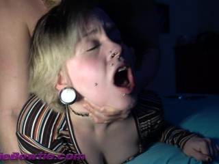 FIRST TIME for  with Braces Gets pussy eaten by @Andregotbars