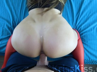 Best Blowjob and Fuck Huge Cock, interviews with Boss in hotel