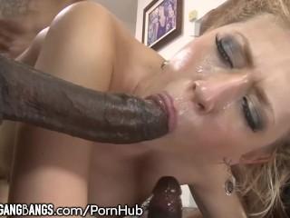 Kagney Linn Karter DP Gangbaged by Big Cocks
