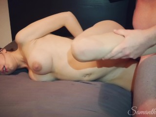 Naughty Stepdaughter Episode 5 - Dad fucks handcuffed stepdaughter. She thinks it's her boyfriend!