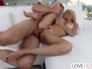 LoveHerFeet - Super Hot Squirting Blonde Friend With Benefits