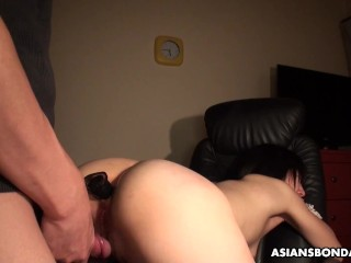 Momo Sakata got tied up and fucked harder than ever