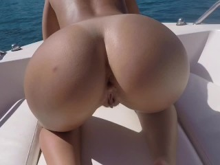 Boat Summer Anal Sex - Prone Bone, Outdoor Sex, Dogstyle, Cowgirl - Perfectblonde69