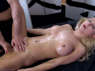 Tantric Massage 93 - Alix Lynx Intense Real Squirting Gspot Orgasms + Fuck