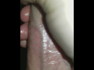 Big COCK makes tiny asian PUSSY creampie again