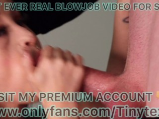 Midget Porn First Ever Real Blowjob From Sexy Tiny Texie