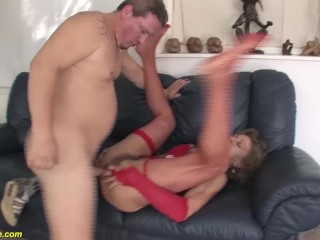 granny first anal sex