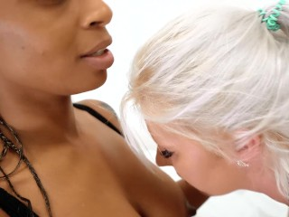 Black Couple use White MAID as a fucktoy because of mess