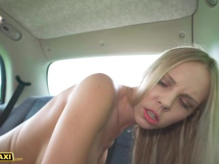 Fake Taxi Big Tits Blonde Florane Russel Likes to Swallow