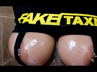 NELLIE HENTAI - SHOULD MY HUGE TITS BE ON FAKE TAXI?