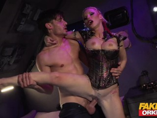 FAKEhub Originals Busty sexy space pirate wet for cock