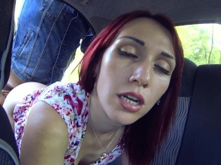 Public sex in the car