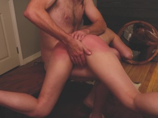 Brodie's Ass Made Bright Red After a Long Spanking