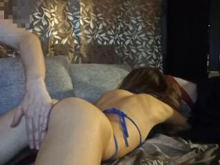 Spy cam video: I shlick my step sister's vagina until she asks to fuck her.
