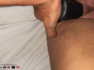 """Painal , All 11"""" Dildo up in her Ass, Screams and Cry a Lot. 4K"""