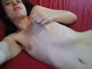 Do you want to see my whole body naked? Crazy Hairy nudist e slut whore cam girl flashes everything