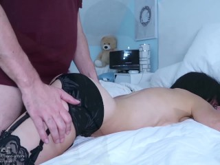 Step mom tied up by paramour but fucked by step son-Advent Calendar 10