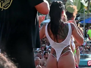 Naked Slut Pool Party Dante's Key West (2019)