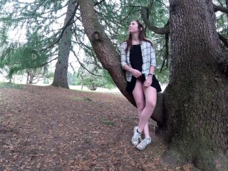 Preview - Public upskirt and multiple squirts at the park