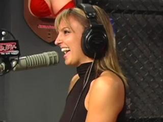 Lexi Love Gets naked on Shock Jock Bubba Radio