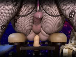 Hot Anal Orgasm fuck machine sissygasm deep fuck ass ( femboy trap sissy )