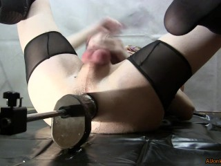 Close up, fucking yourself and using a vacuum-pump, part 2
