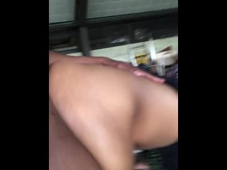 Ashy Booty Thot Banged By Gang Member Cousin(Paying Debt)