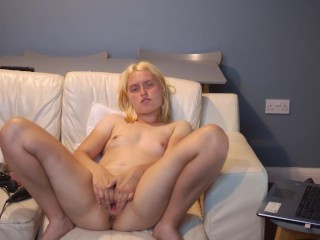 Giant dildo pussy fuck and anal fail