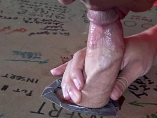 Peeing Slut Discovers Secret Jamie Stone Glory Hole