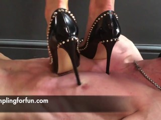 High Heels Trampling by Mistress Adreena (preview)