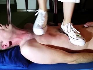 Trampling with Converse Sneaker (Trailer)