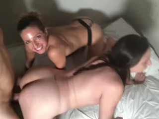 Casting Couch and Sloppy Threesome