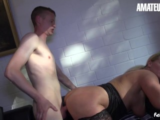 ReifeSwinger - Huge Ass German Mature Slut Seduces Her Landlord For Intense Sex