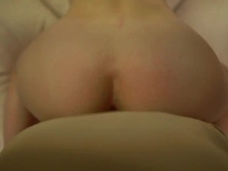 Invite the girlfriend to watch Netflix, and she grabbed my cock