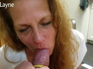 Mature Daizy Layne Blowjob! Deepthroat! Swallow! Cumshot! Compilation!