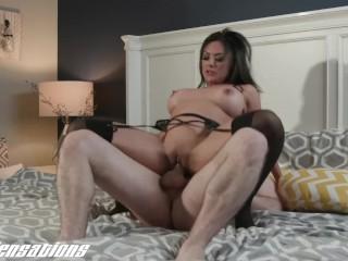 New Sensations - Busty Asian MILF Kaylani Lei Fucking Younger Cock