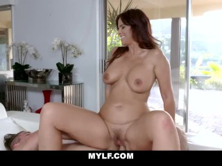 Horny Wife sucks and blows Her personal traine