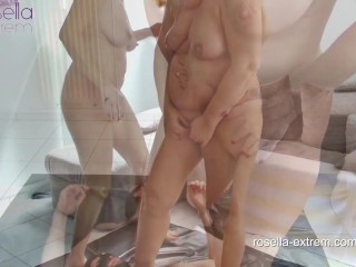 The Milf Files! Kinky piss and fuck orgy with 2 blond Milfs (Dirty-Tina and RosellaExtrem)! Part 1