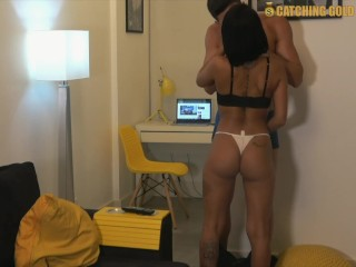 Money Hungry Brazilian Cheats On Her Husband by Getting Fucked Hard
