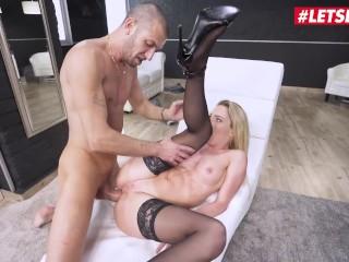 Her Limit - Isabelle Deltore Blonde Australian Slut Gets Her Ass Stuffed By A Huge White Cock