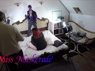 Miss Maskerade latex timelaps photoshoot in full rubber - 2