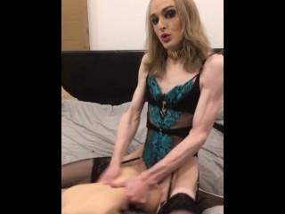 ItsZoeStarr - Tranny Bimbo Futa Fucks Sex Doll