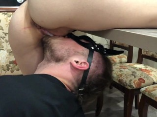 CUMED AND LICKED. CREAMPIE. SQUIRTING