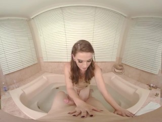 Shemale VR Porn with Jenna in POV