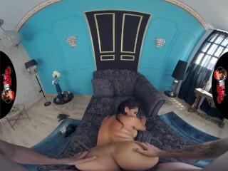 VRLatina - Huge Boobs Latina Kesha Ortega Fucking - VR Porn