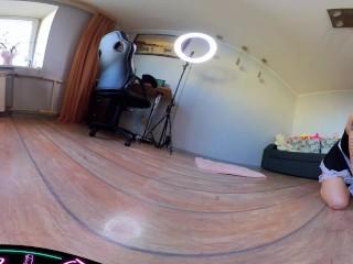 VR 360 ° Чистый со мной | Горничная Ролевая игра | Очистка Мотивация