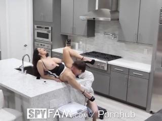 SPYFAM Horny Step Mom Fucked On Valentines Day