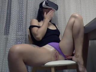 Spying on my wife while she masturbates